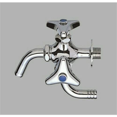 ○万能二口横水栓 JF12A−13−KN
