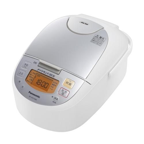 パナソニック IH炊飯器 SR−VFD1060−W 5.5合炊き