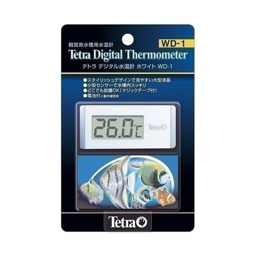 テトラデジタル水温計 ホワイト