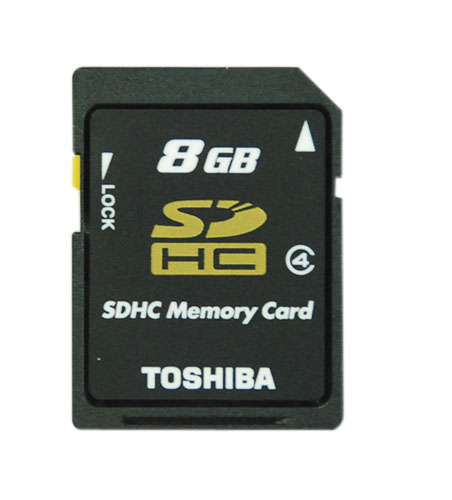 SDHCカード8GB SD−F08GTS
