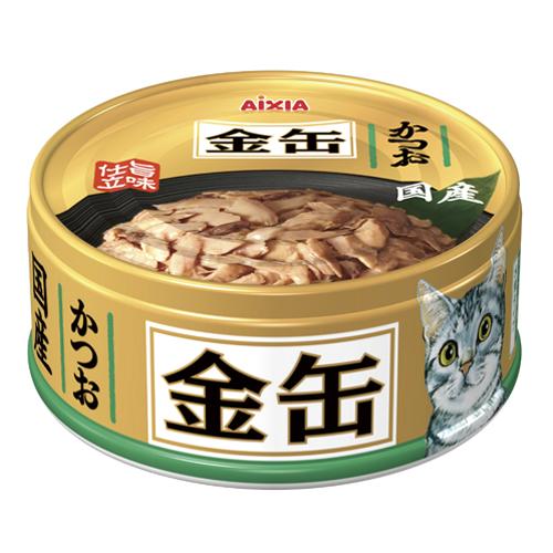 アイシア 金缶ミニ かつお70g