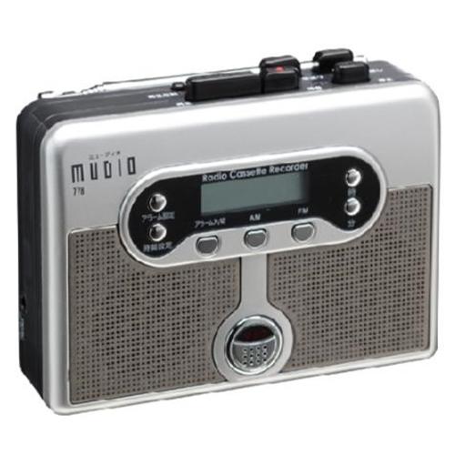 ラジオカセット録音機 MUDIO 778