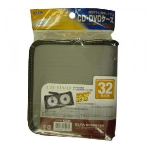 CD/DVDケース シルバー CDKP−32(SL)