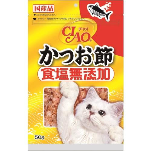 いなばP チャオ かつお節食塩無添加 50g