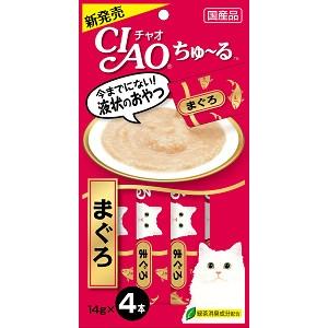 CIAO ちゅ〜る まぐろ 14g×4本