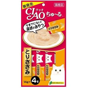CIAO ちゅ〜る とりささみ 14g×4本