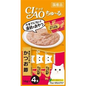 CIAO ちゅ〜る 宗田かつお&かつお節14g×4本