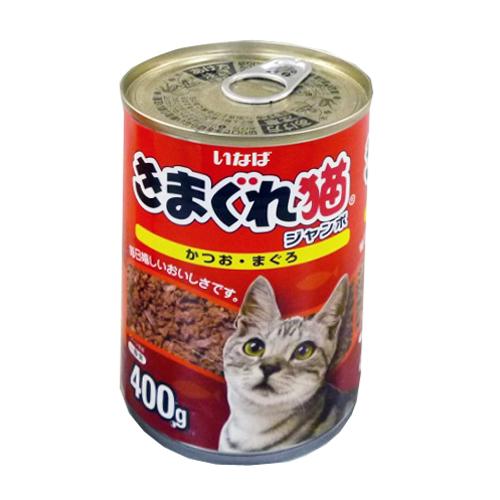 きまぐれ猫ジャンボ かつお・まぐろ400g