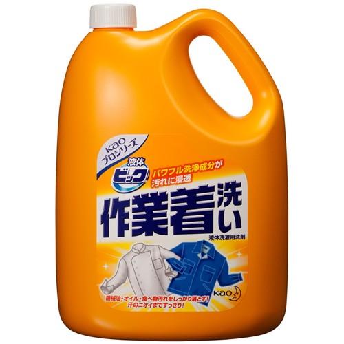 花王 液体ビッグ作業着洗い 4.5kg