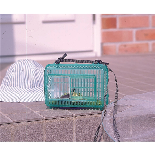 虫かご 角型 クリアグリーン KQ−210
