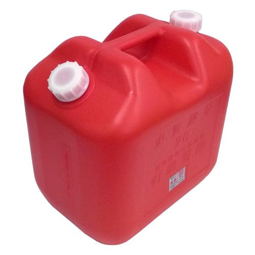 灯油缶 20L レッド KT−018