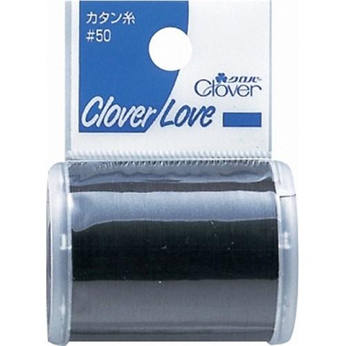 クロバーカタン糸50 黒 77−726