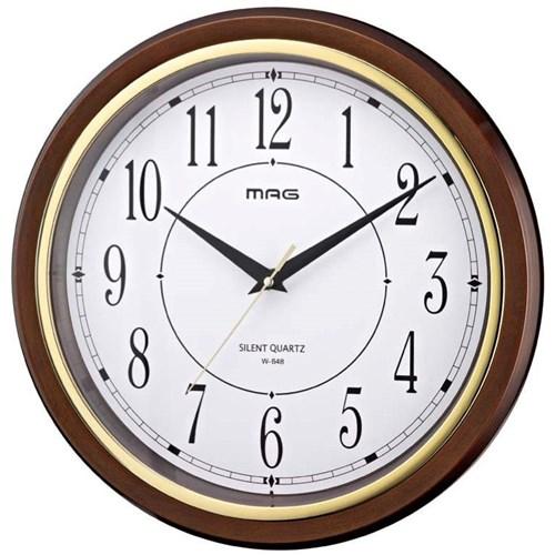 MAG掛時計モアマグ ブラウン