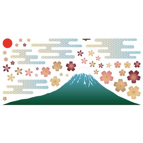 ウォールステッカー 30×60 富士山