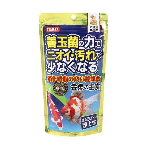コメット 金魚の主食納豆菌中粒 200g