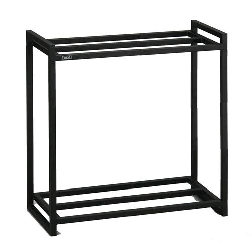 60cm水槽用2段台組立 ブラック