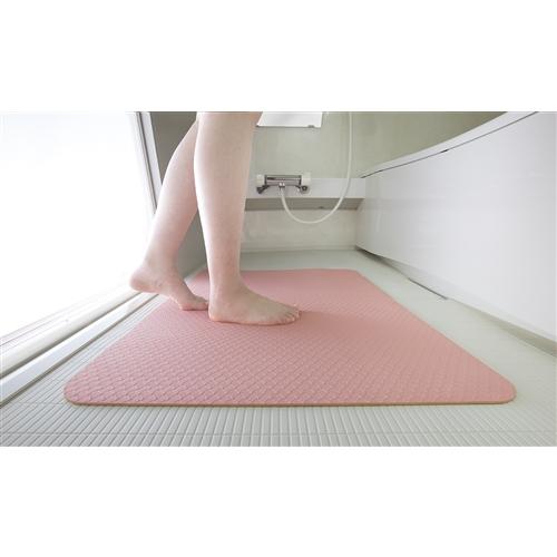 お風呂洗い場マット AF−09 ピンク