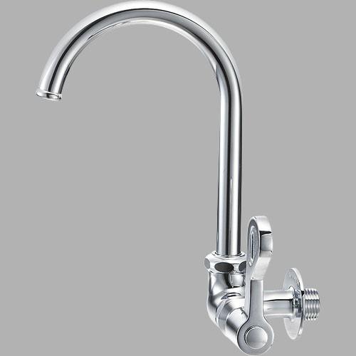 厨房用自在水栓横形ツル首 A2316−13
