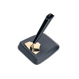 デスクペン スタンド 黒 DPD−1200E 342812
