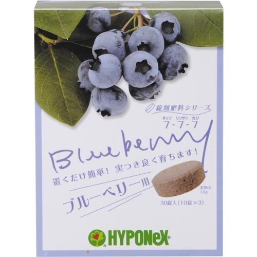 錠剤肥料 ブルーベリー用 30錠