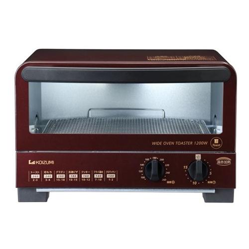 コイズミ オーブントースター KOS1212R