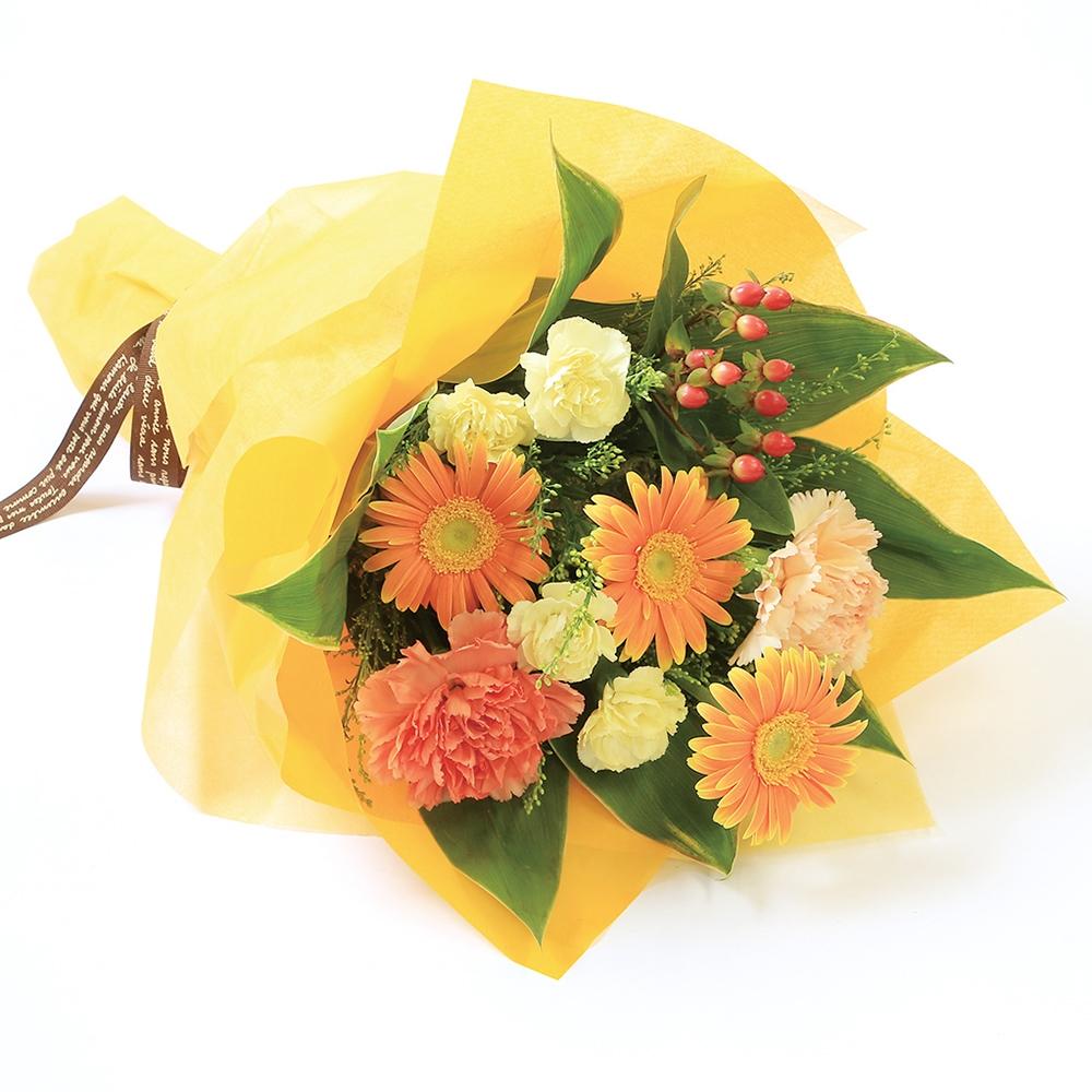 花束A オレンジ 27003