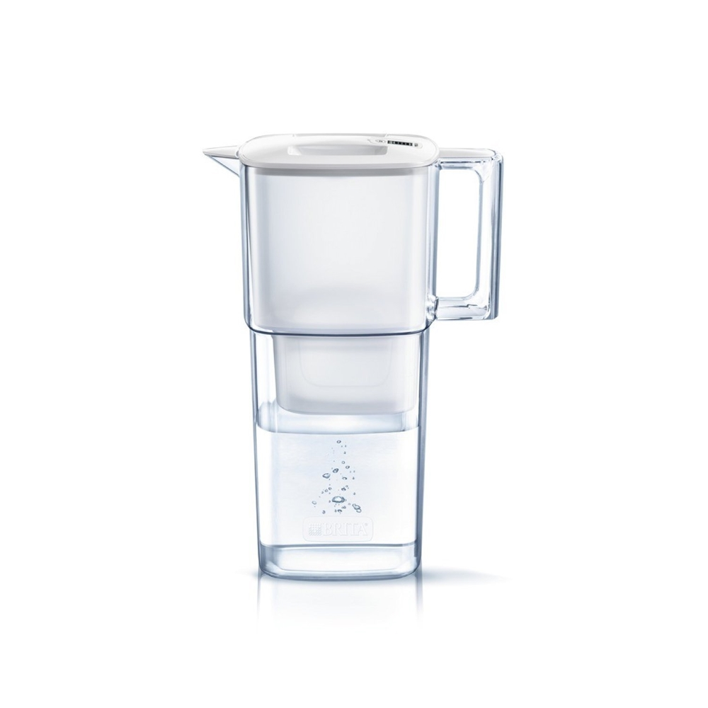 BRITA(ブリタ) 浄水ポット1.1L リクエリ ポット型浄水器 マクストラプラスカートリッジ1個付き スリムエントリーモデルBJPL【日本仕様・日本正規品】