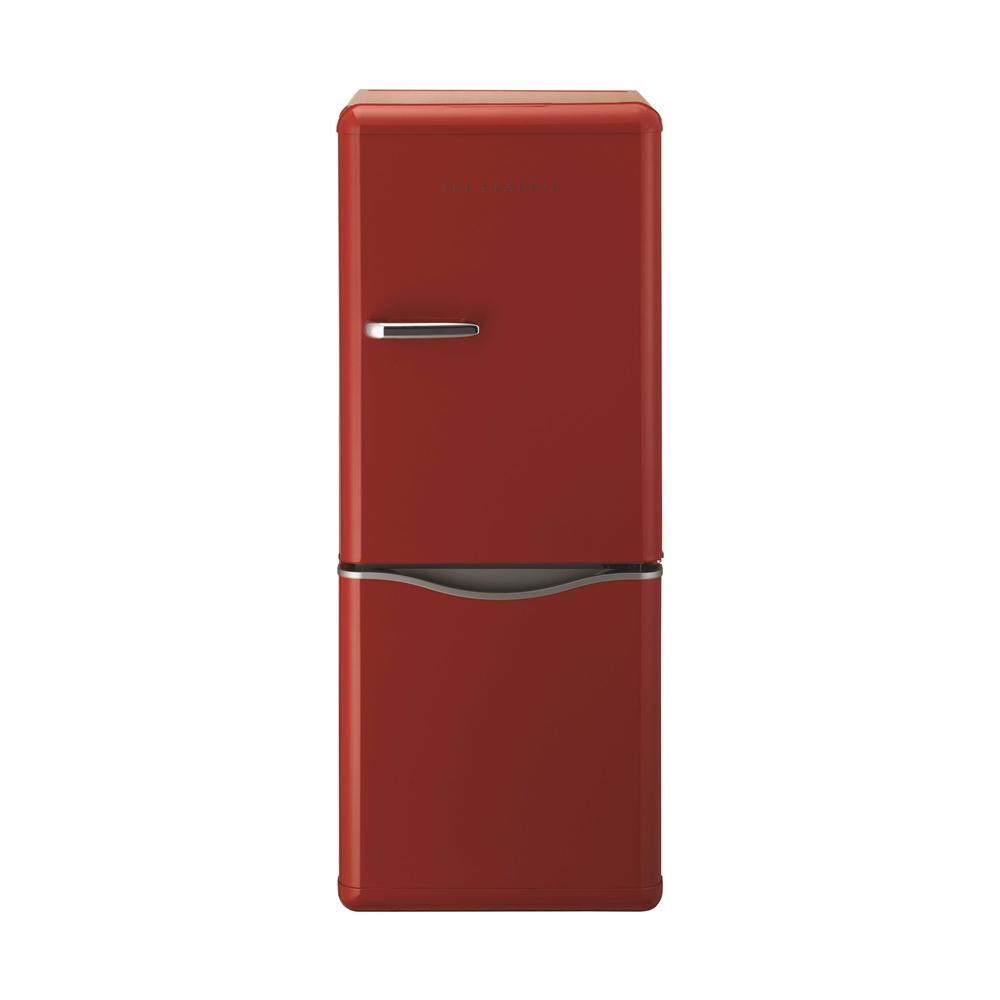 DAEWOO レトロデザイン2ドア冷蔵庫150L レッド DR−C15AR