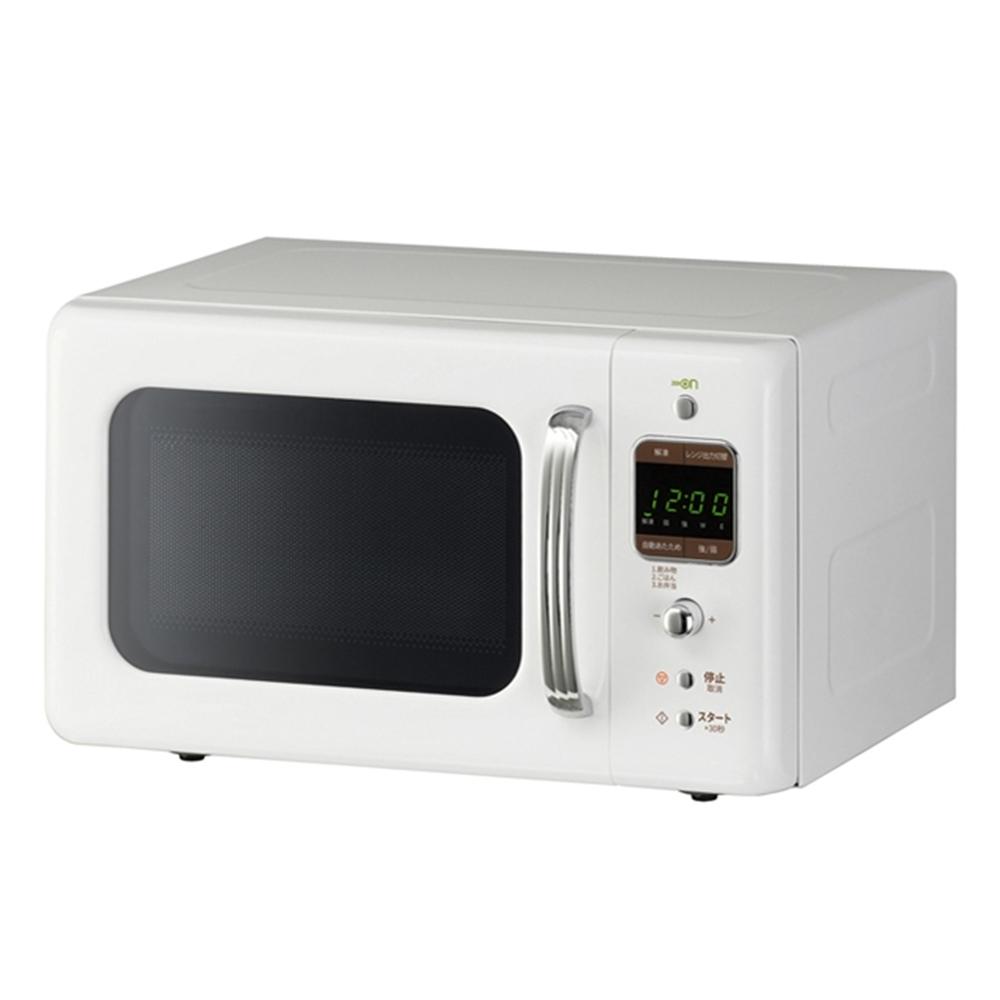 DAEWOO レトロデザイン電子レンジ ホワイト DM−E26AW 60Hz