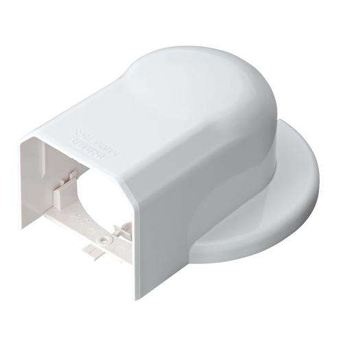 因幡電工 ウォールコーナーエアコンキャップ用 MWM75S−W