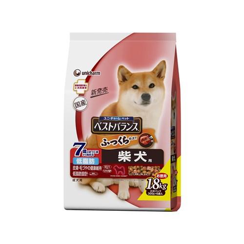 ※※※ベストバランス ふっくら仕立て 柴犬用 7歳が近づく頃から始める低脂肪設計 1.8kg 【ドッグフード ソフト 半生】