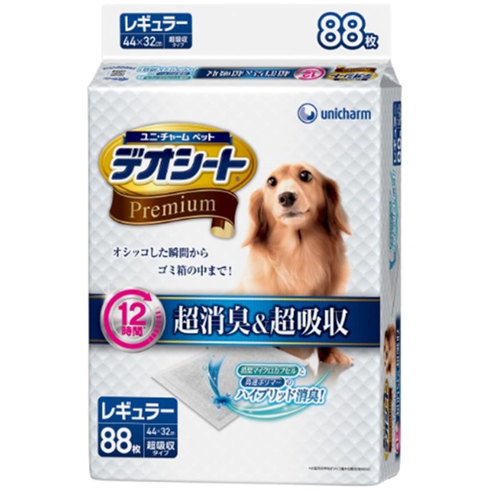 ◎デオシートプレミアムレギュラー88枚【ペットシーツレギュラー】