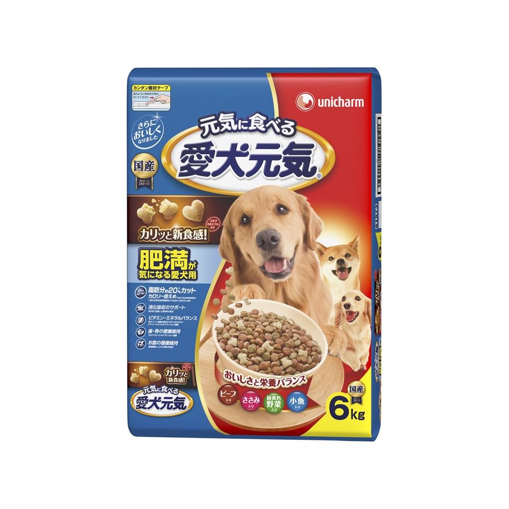 ※※※◎愛犬元気肥満が気になる愛犬用ビーフ・ささみ・緑黄色野菜・小魚入り6kg【ドッグフード ドライ】