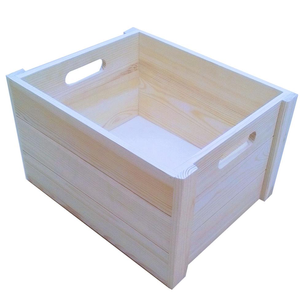 コーナンオリジナル ウッドBOX S 外寸:約W310XD250XH180mm WBS01-0067