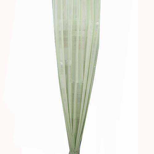 ミラーレースカーテン ヨーク 1P 150×176cm グリーン