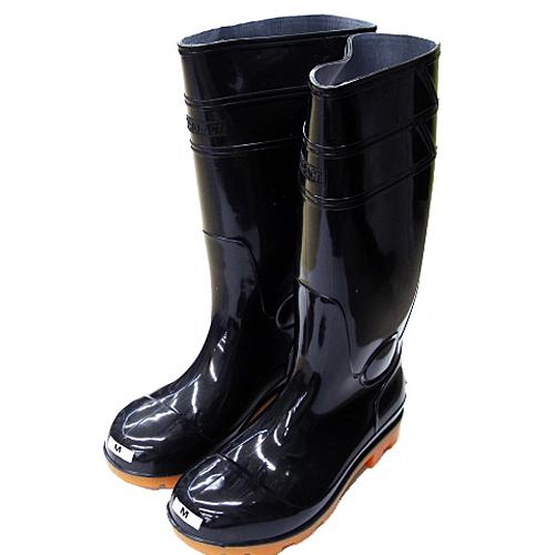 PVC耐油長靴 黒 先芯入 LL KTL04−9984