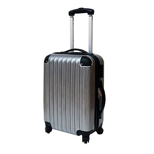 スーツケース 18インチ ヘアラインシルバー KO14−18HS