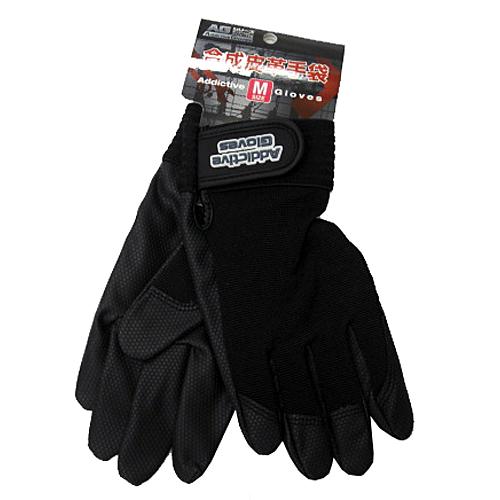 PU革手袋黒 M KU04−2129