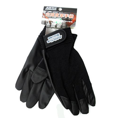 PU革手袋黒 LL KU04−2143