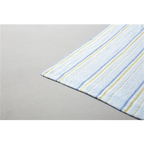 吸水速乾タオルケット ブルー 約140×190cm
