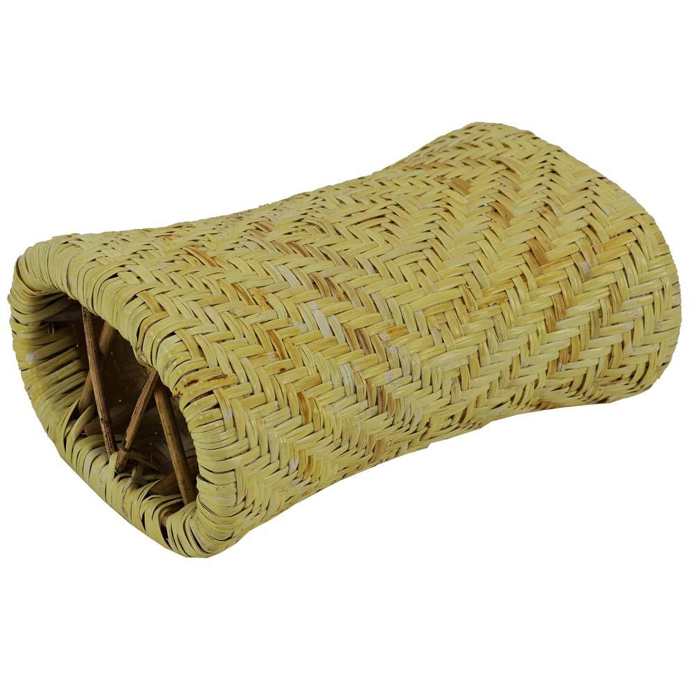 籐枕 高密度タイプ 約30×20×12cm