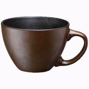 レンジdeスープマグ ブラウン KFY05−9155