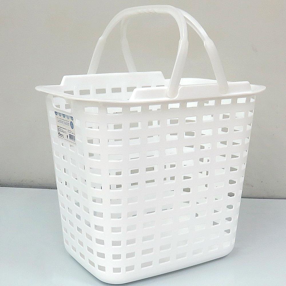 ランドリーバスケット L ホワイト