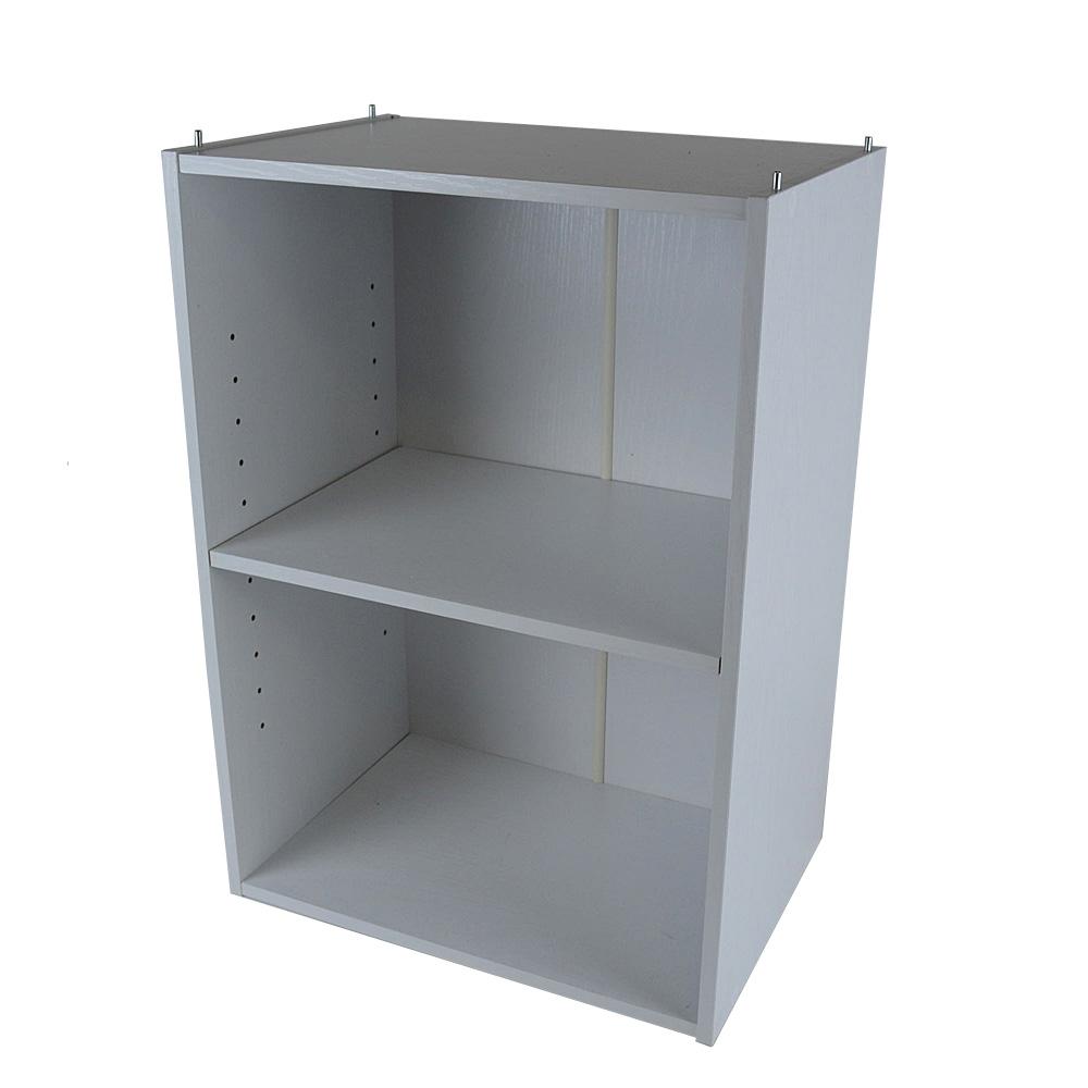 2段可動棚ボックスα KR18−7180−WH