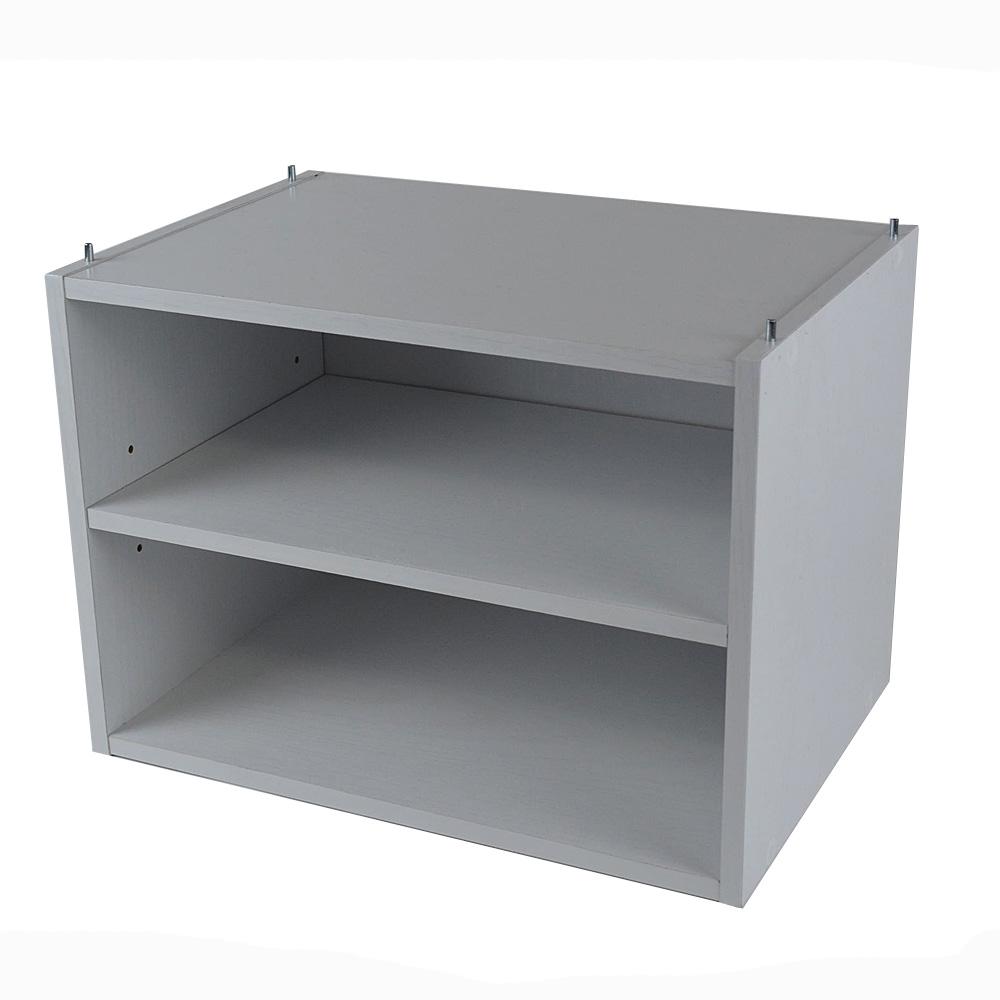 1段可動棚ボックスα KR18−7340−WH