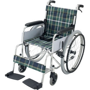 アルミ製車椅子 KG19−7242