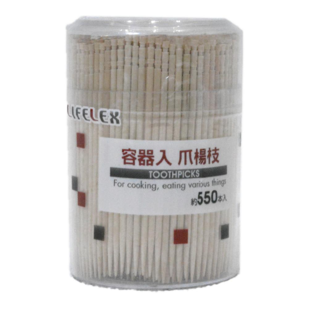 容器入爪楊枝 550P KHM05−8073