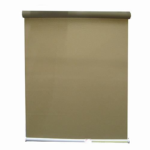 プルコートロールスクリーン 約180×180 ブラウン