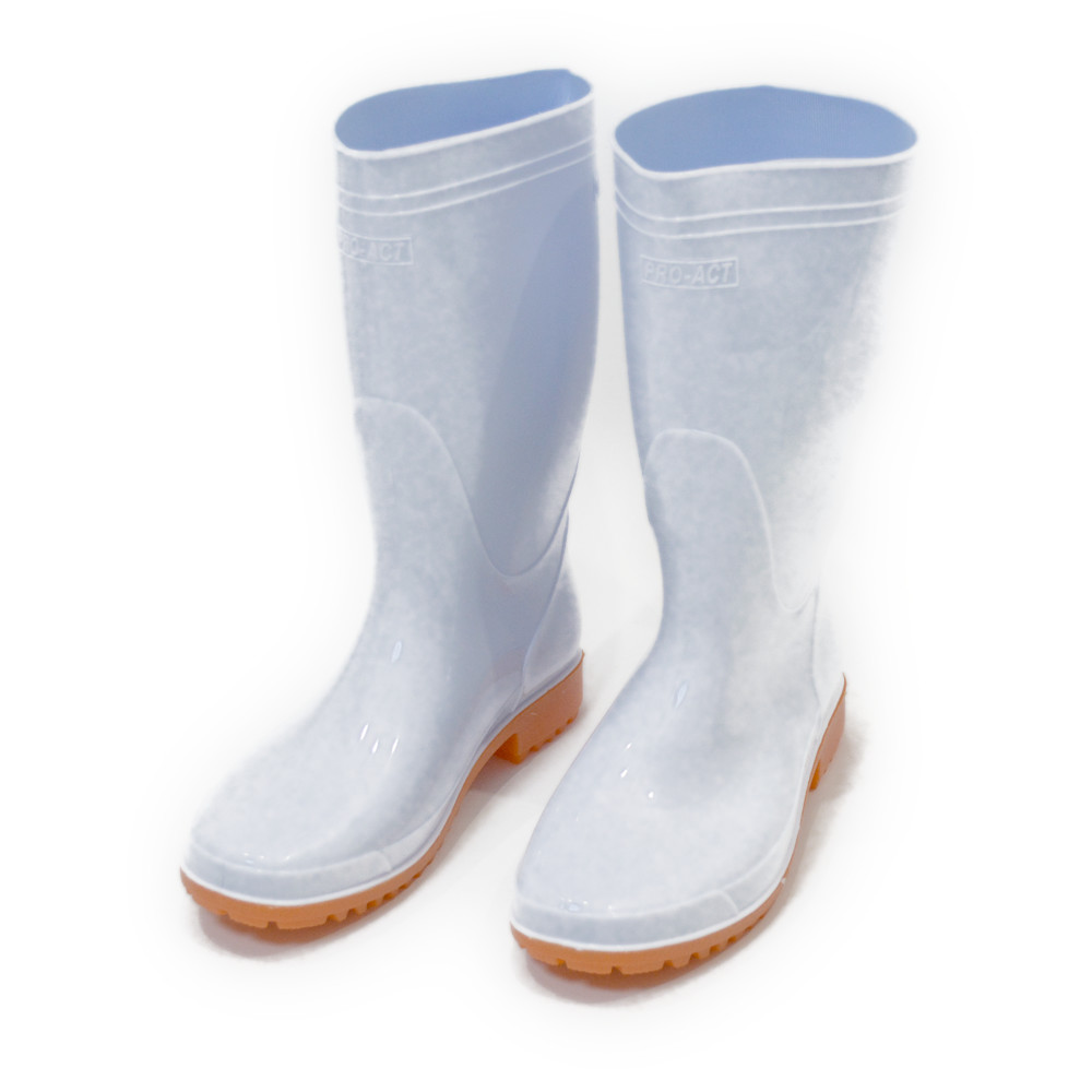 耐油長靴 白 26.0cm NJT04−6520