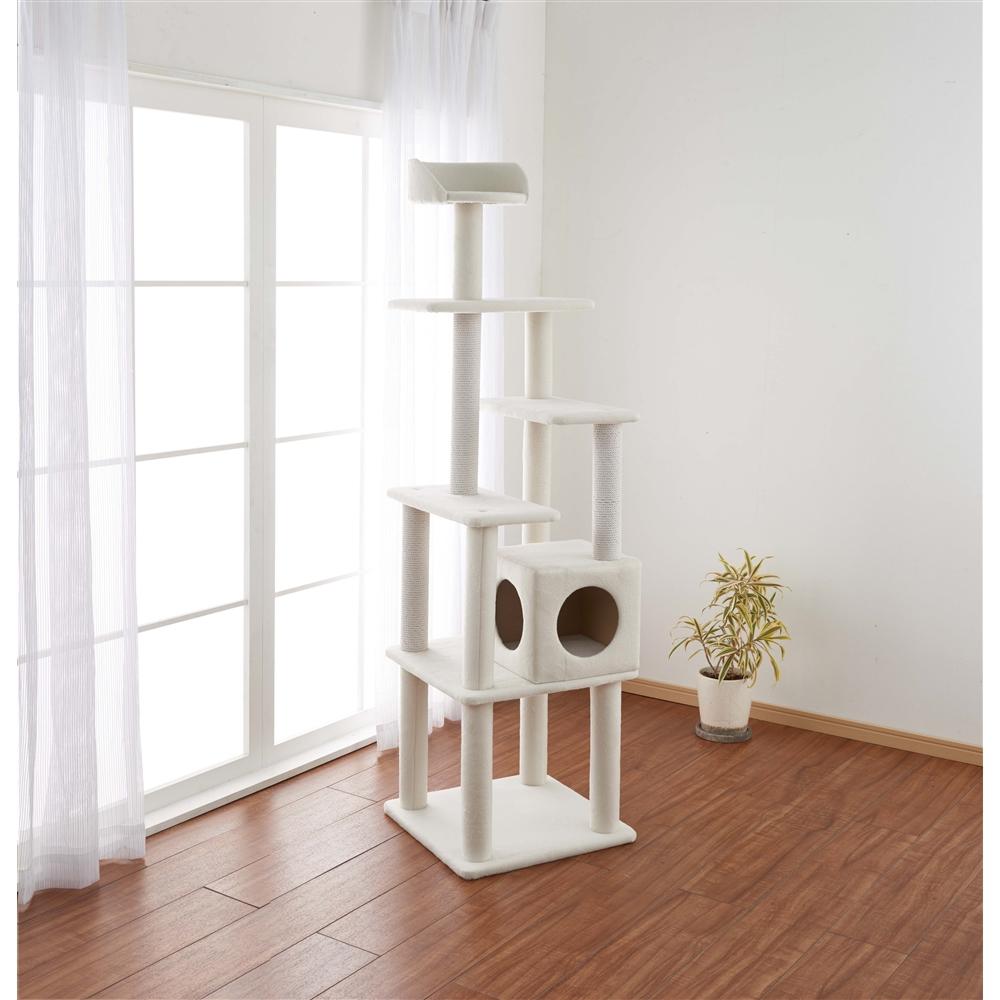 ふわふわ キャットツリー 170cm 猫タワー キャットタワー 玩具 ツリー